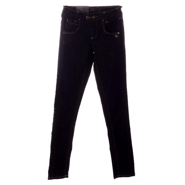 Dámske tmavo modré džínsy Object