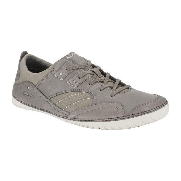 Pánské boty Clarks šedé