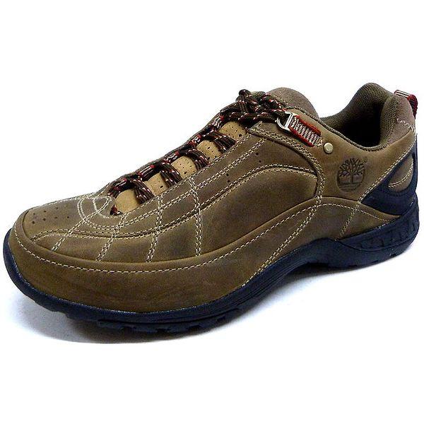 Pánské hnědé sportovní boty Timberland