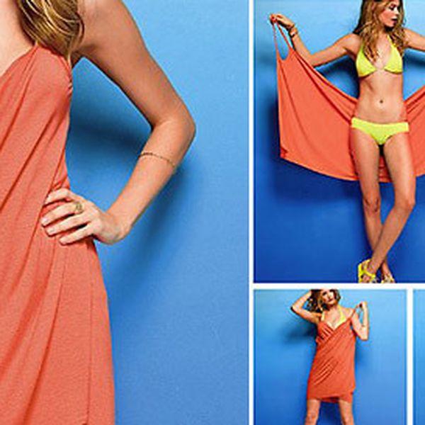 Zavinovacie šaty Beach Cover