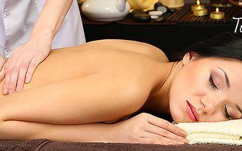 Balinéska masáž v salóne Tullippe