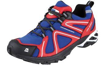 Tenisky Alpine Pro modro-červené 42