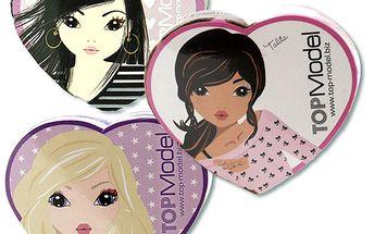 Ručníky Top Model. Špičková vlasová, pleťová a dekorativní kosmetika.