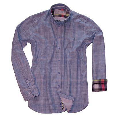 Navy bavlněná košile Portofino