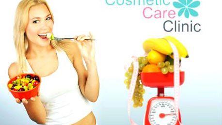 Hubnoucí balíček: úprava jídelníčku, 10 procedur, Carnitin!