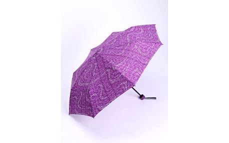 Skládací deštník od značky Benetton spotiskem.