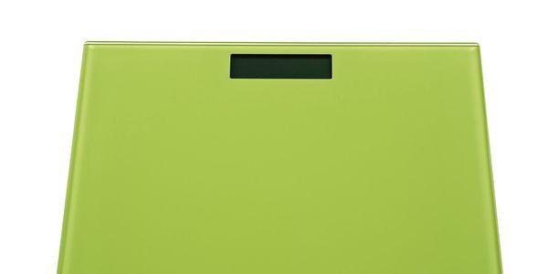 Osobní váha, limetková ze skla. Nonsnost 150 kg