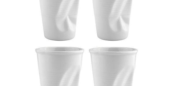 Sada porcelánových hrnků 0,2 l, 4 ks
