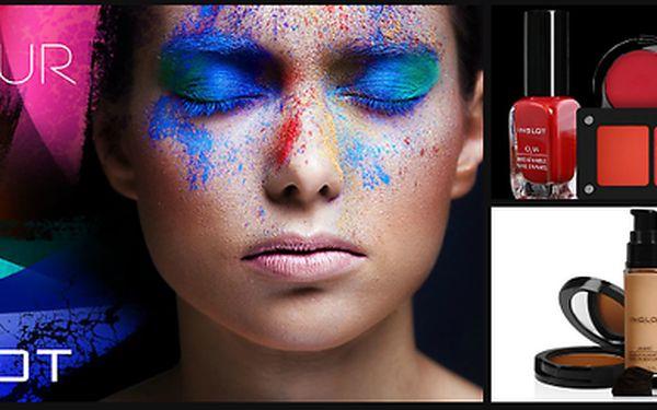 60minutové kompletní líčení od profesionálních INGLOT vizážistů & sleva na nákup produktů
