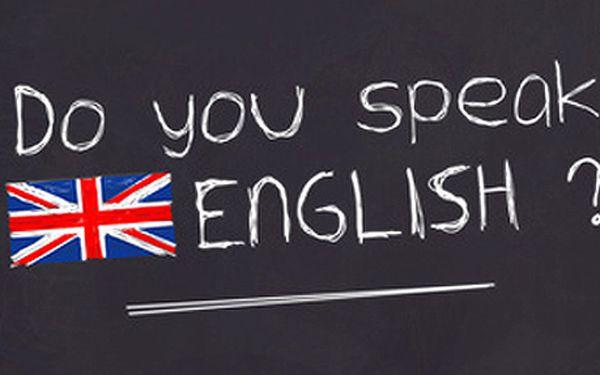 Individuální lekce angličtiny (poukaz na 10 x 60 minut). Lekce můžete využít pro všechny znalostní úrovně.