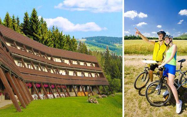 Šumava – léto s rodinou, relaxací i sportem. Vířivka, minigolf, tenis a bohatá polopenze v oblíbeném hotelu Arnika v samém srdci Šumavy. Dovolená plná zážitků pro celou rodinu!