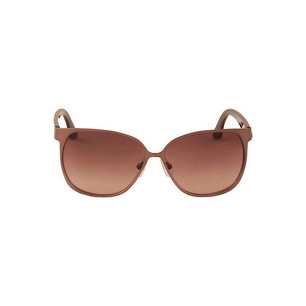 Dámské bronzové sluneční brýle Calvin Klein