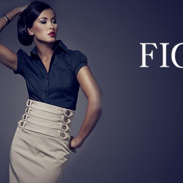 Dámská košile Figl černá