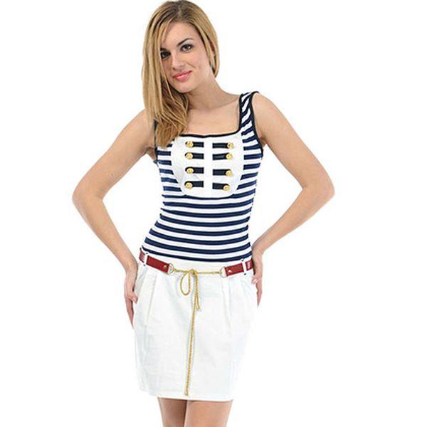 Šmrncovní námořnické šaty