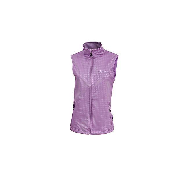 Dámska fialová softshellová vesta Envy
