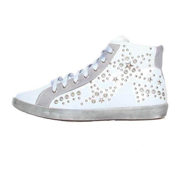 Dámské kotníkové boty Ana Lublin bílé se cvoky