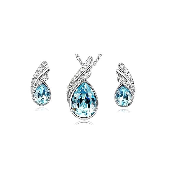 Likvidace-výprodej za 149 kč – LUXUSNÍ SET osázený Crystaly Swarovski Elements. Ozdobte se tímto elegantním setem, který vás zkrášlí a perfektně padne právě na váš krk.