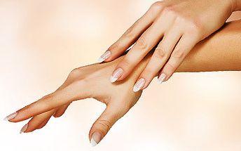 Parafínový zábal na ruce a peeling rukou NEBO japonská manikúra P-SHINE za krásných 119 Kč!