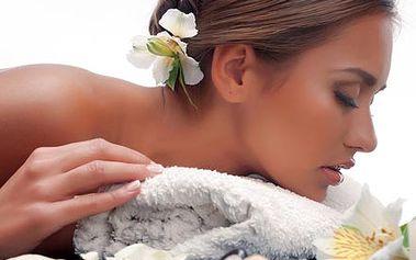 Letní relaxační masáž zad a šíje osvěžující tělo i...