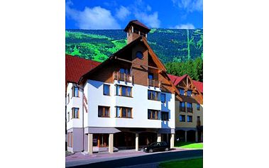 Osmidenní pobyt pro čtyři osoby v Krkonoších s ubytováním ve stylových ***apartmánech HELAS v malebném údolí Rokytnice nad Jizerou