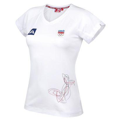 Dámské triko Alpine Pro bílé L