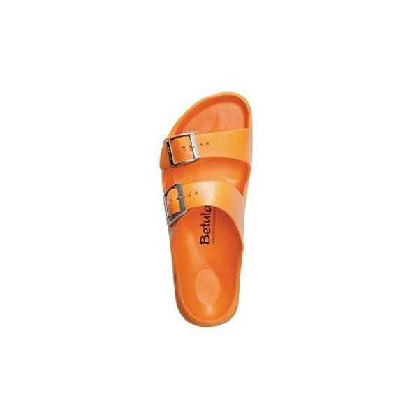 Dámské pomerančově oranžové pantofle Betula