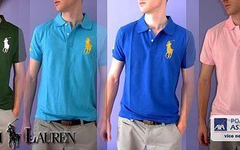 Luxusní značková pánská polokošile značky Ralph Lauren Big Pony - 5 barev a 5 velikostí na výběr! Osobní odběr v Praze nebo zaslání poštou!