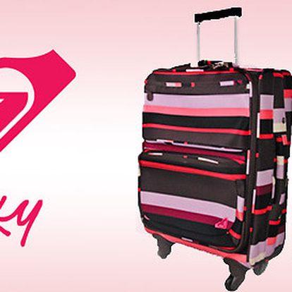 Kufry Roxy do letadla i do auta