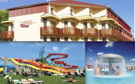 Hotel Relax*** Senec na 4 dny za 3399 Kč! Aquapark a wellness na Slovensku!