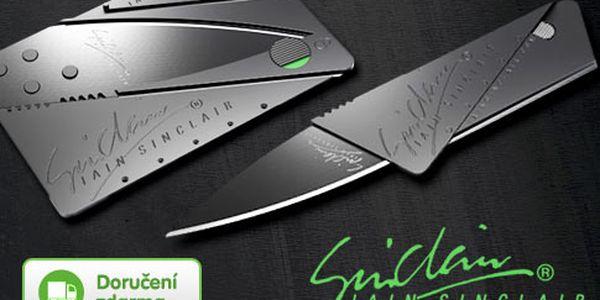 Skládací nůž CardSharp o velikosti kreditky