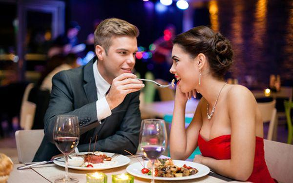 Romantika pro DVA gurmány - pobyt s 6-ti chodovým degustačním menu