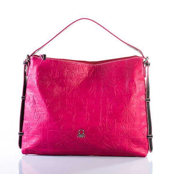 Velká růžová kabelka Samantha
