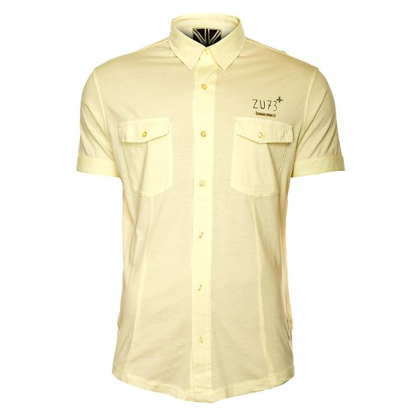 Pánska svetlo žltá košeľa ZU elements