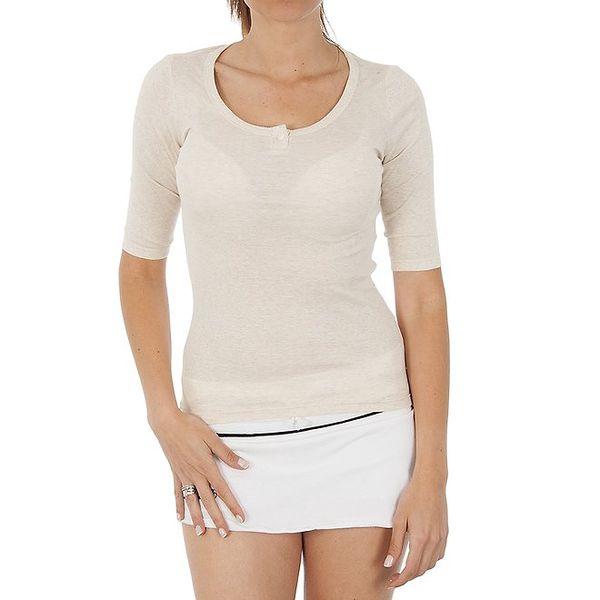 Dámské světle béžové tričko Women'Secret