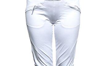 Dámské bílé sportovní kalhoty ALEA