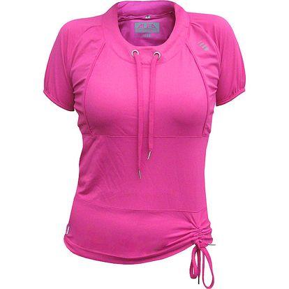 Dámské růžové tričko ALEA