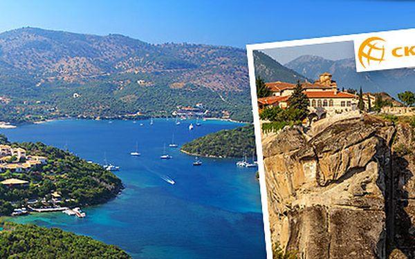 Pobytově poznávací zájezd do Řecka na 15-20 dní