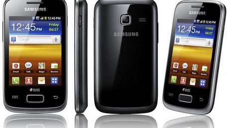 Mobilní telefon Samsung Galaxy S5360, černý