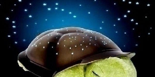 Magická svítící želva, skvělý dárek pro vaše dětičky. Nyní se již nebudou bát v pokoji usínat sami.
