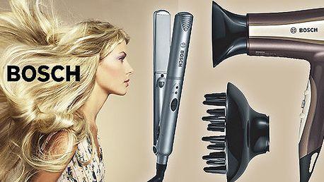 Fén a vlasová žehlička Bosch