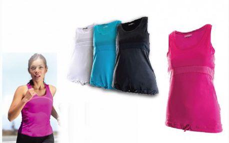 Dámské sportovní triko za báječnou cenu 189 Kč. Úžasné triko pro sportovní aktivity, vybírat lze ze čtyř barev!