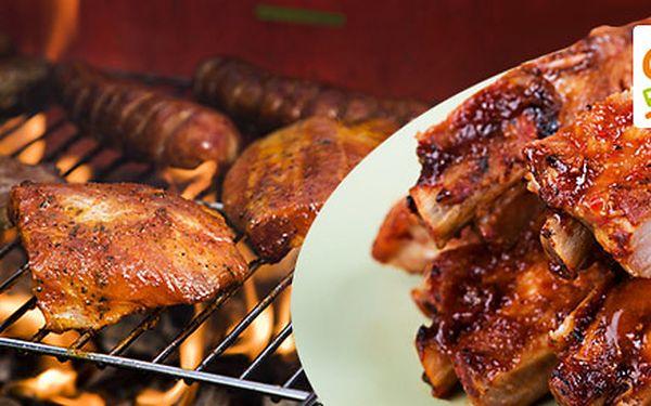 Libovolné dobroty z grilu v hodnotě 300 Kč