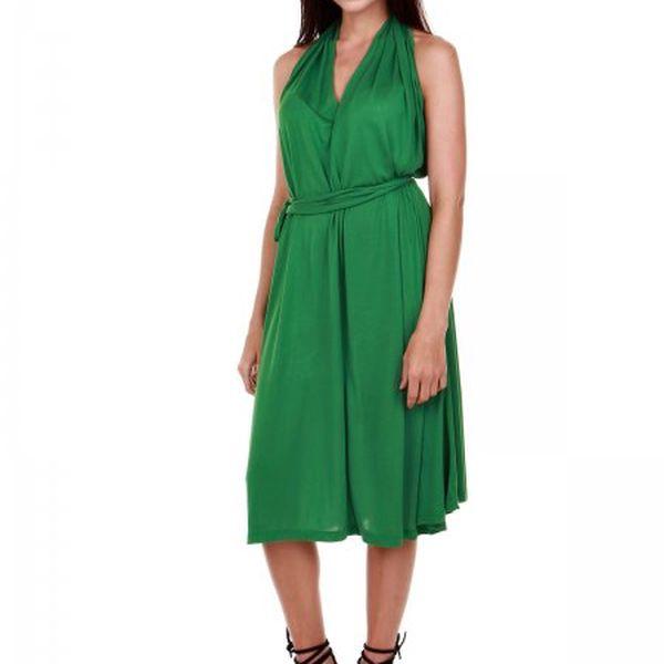 Elegantní dámské šaty bez rukávů Gant, zelená. Model zkolekce2013.