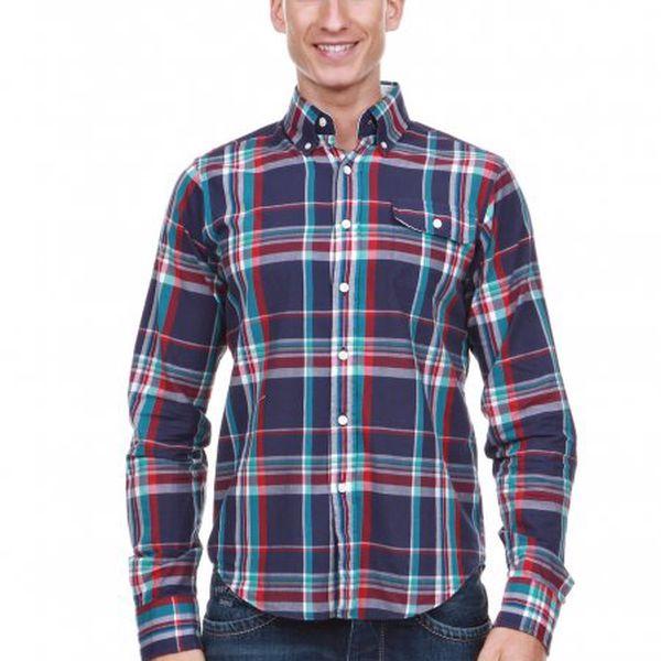 Pánská košile sdlouhým rukávem Gant. Model zkolekce2012.