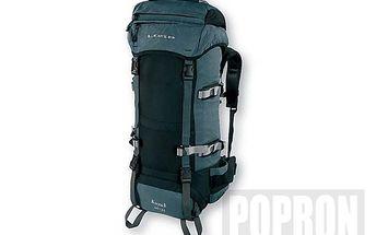 LOAP Batoh Kayuk 60+10 zelený. Dvoukomorový batoh s vrchním a spodním plněním