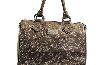 Dámská šedo-béžová kabelka s hvězdičkami Anna Smith