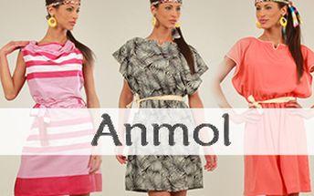 Letní šaty à la 60. léta Anmol – vč. nadměrných velikostí