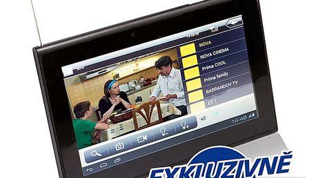 """Tablet Crono s DVB-T tunerem 7"""" Android 4.0. Ideální společník na cesty na dovolenou"""
