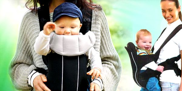 Oblíbená klokanka s pevnou sedačkou: volné ruce + miminko v bezpečí
