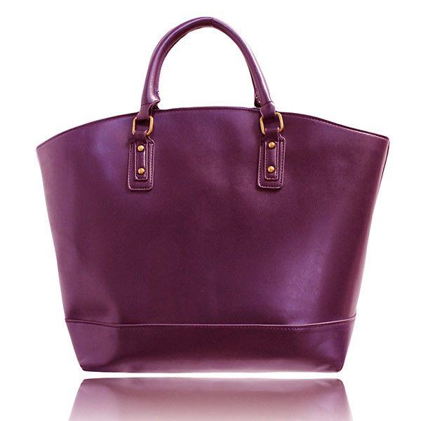 Dámská vínovo-fialová kabelka London Fashion